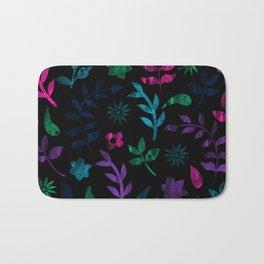 Seamless Flower Pattern III Bath Mat