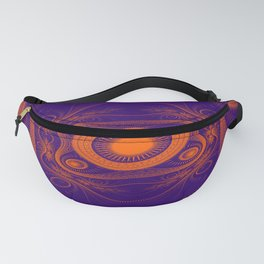 Steampunk fractal art Fanny Pack