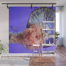 Jellyfish Photography | Rainbow | Colourful Deep Sea Exploration Wall Mural