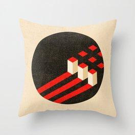 Komposition #5 Throw Pillow
