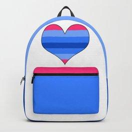 Trans Man Heart Backpack