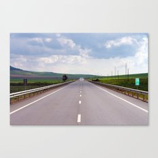 2007 - We Are On A Road To Nowhere (High Res) Canvas Print