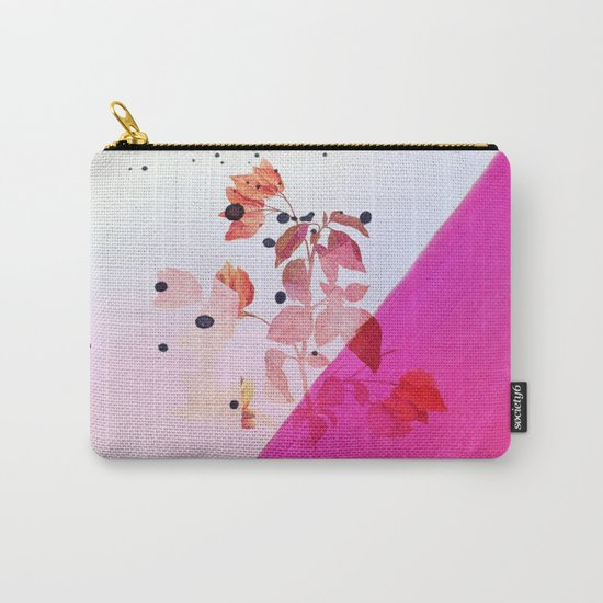 modern bougainvillea Carry-All Pouch