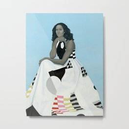 First Lady Michelle Obama Metal Print