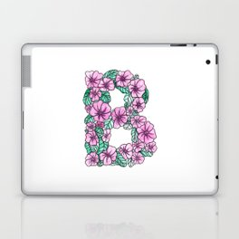 Letter B - Watercolor and Inked Laptop & iPad Skin