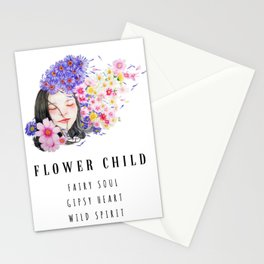Flower Child / Fairy Soul / Gipsy Heart / Wild Spirit Stationery Cards