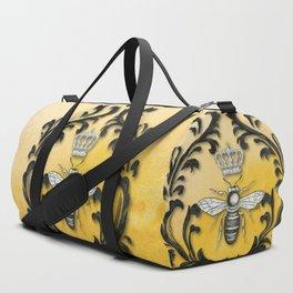 Damask Bee Duffle Bag