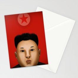 Kim Jong  The Supreme Leader Stationery Cards