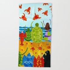 Alice in Wonderland #10 Beach Towel