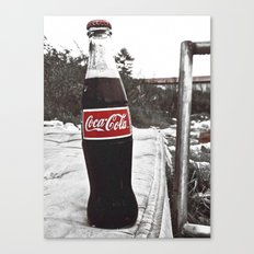 There's always Coke Canvas Print