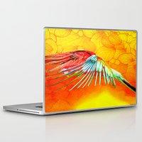 parrot Laptop & iPad Skins featuring Parrot by Ganech joe