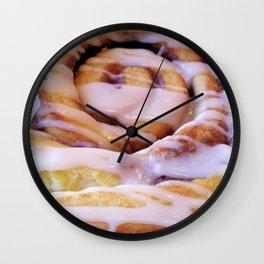 Cinnamon Roll Wall Clock