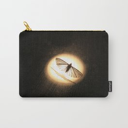 Moth in the spotlight Carry-All Pouch