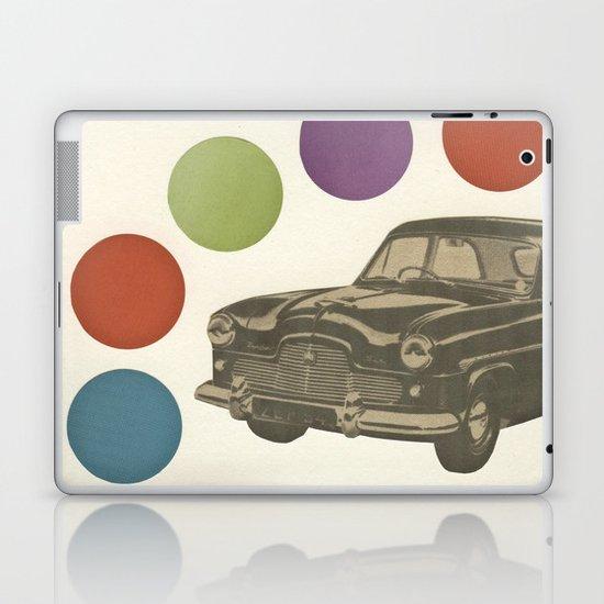 Driving Around in Circles Laptop & iPad Skin