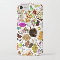 dessert iPhone & iPod Cases featuring Dessert! by nerdwaffles