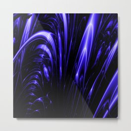 Fractal Cataract Metal Print