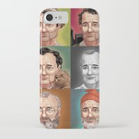 murray iPhone & iPod Cases featuring Bill Murray by Dave Collinson