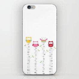 Treetop Owls iPhone Skin