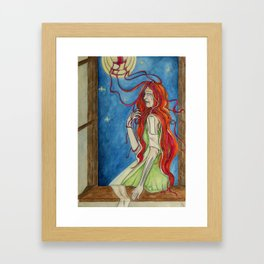 The Banshee Framed Art Print