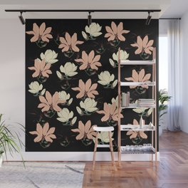 Spring is Here Magnolia Bloom Wall Mural