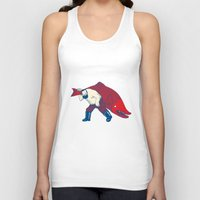 fish Tank Tops featuring Big Fish by Andrew Henry