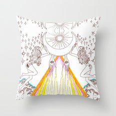 it's not Monday, it's MOONday! Throw Pillow