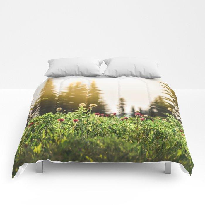 Mountain Meadow Flowers - 13/365 Comforters