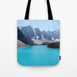 Moraine Lake, Banff Canada Tote Bag