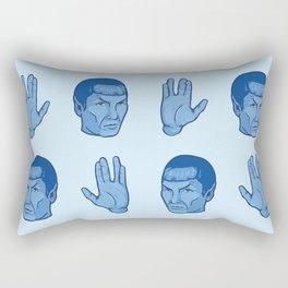 Live Long and Prosper Rectangular Pillow