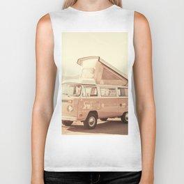 Vintage Van (Color) Biker Tank