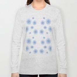 Blue Forms Long Sleeve T-shirt