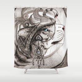 Cata Hari Shower Curtain