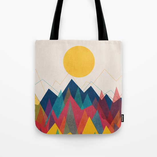 Uphill Battle Tote Bag