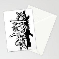 3D graffiti - PRAGA Stationery Cards