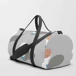 simple pattern of light Duffle Bag