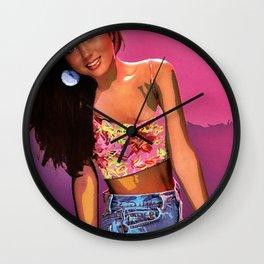 Kelly Kapowski Wall Clock