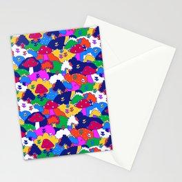 Trippy Hippie Hills Stationery Cards