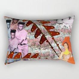 Shot, Illiterate Rectangular Pillow