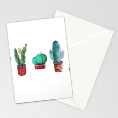 5 little cactus Stationery Cards