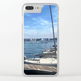 Sail On Clear iPhone Case