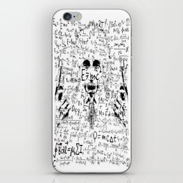 Albert Einstein III iPhone Skin