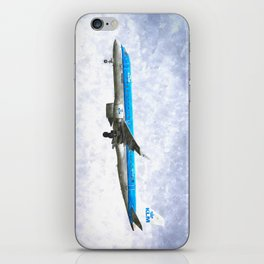 KlM Embraer 190 Art iPhone Skin