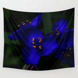 ultraviolet spider Wall Tapestry