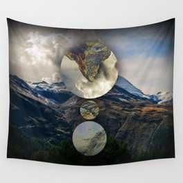 Mountain Language Wall Tapestry