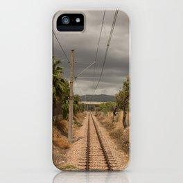 Spanish Railway iPhone Case