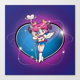 Sailor Chibi Chibi - Sailor Moon Sailor Stars vers. Canvas Print