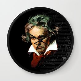 Beethoven - Music Demon Wall Clock