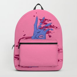 Haand. Pink Backpack