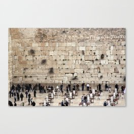 Wailing Wall Canvas Print