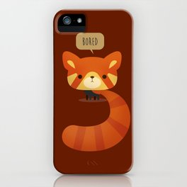 Little Furry Friends - Red Panda iPhone Case